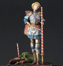 "Load image into Gallery viewer, ""It's a piece of cake, no need for Ascalon"" said St. George"