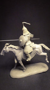Mounted Mongolian Warrior, 54mm
