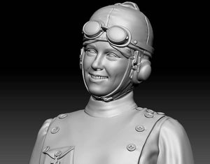 Aviator Matilde Moisant, 1911 - 54mm