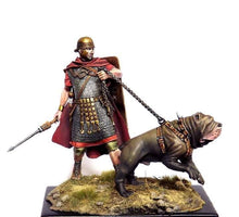 Load image into Gallery viewer, Roman Soldier with Neapolitan Mastiff 75mm