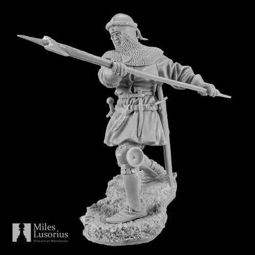 Fighting Knight 14 century 75mm