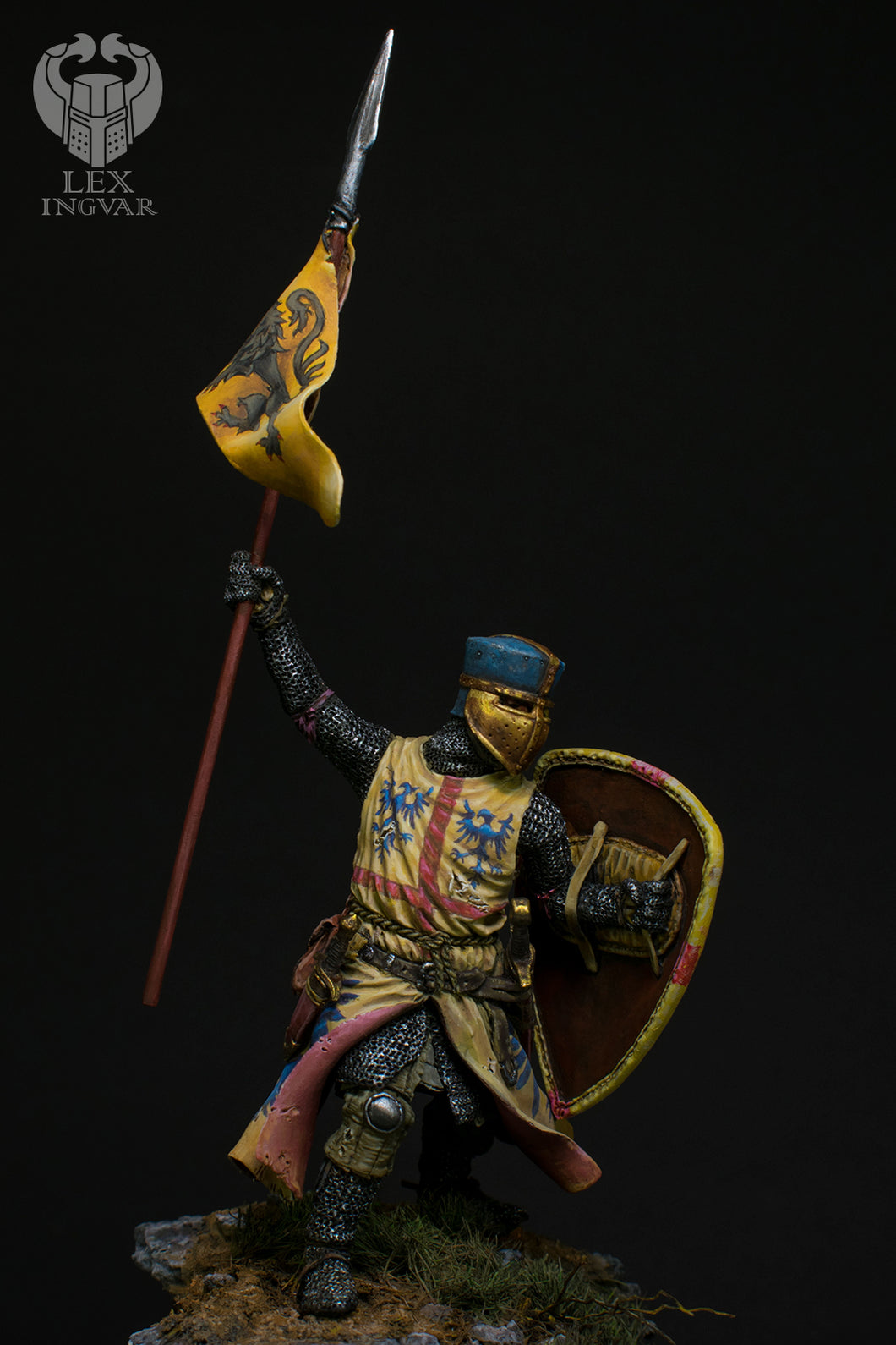 Crusader XIII century, 75mm