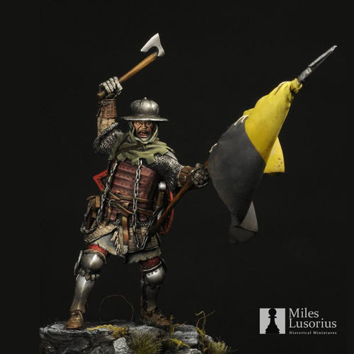 European Chain mail Knight XIV Century, 75 mm