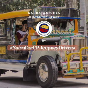 Narra for UP Jeepney Drivers