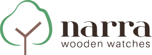 Narra wooden watches logo