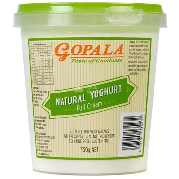 Gopala Full Cream Yoghurt - Grab Grocery
