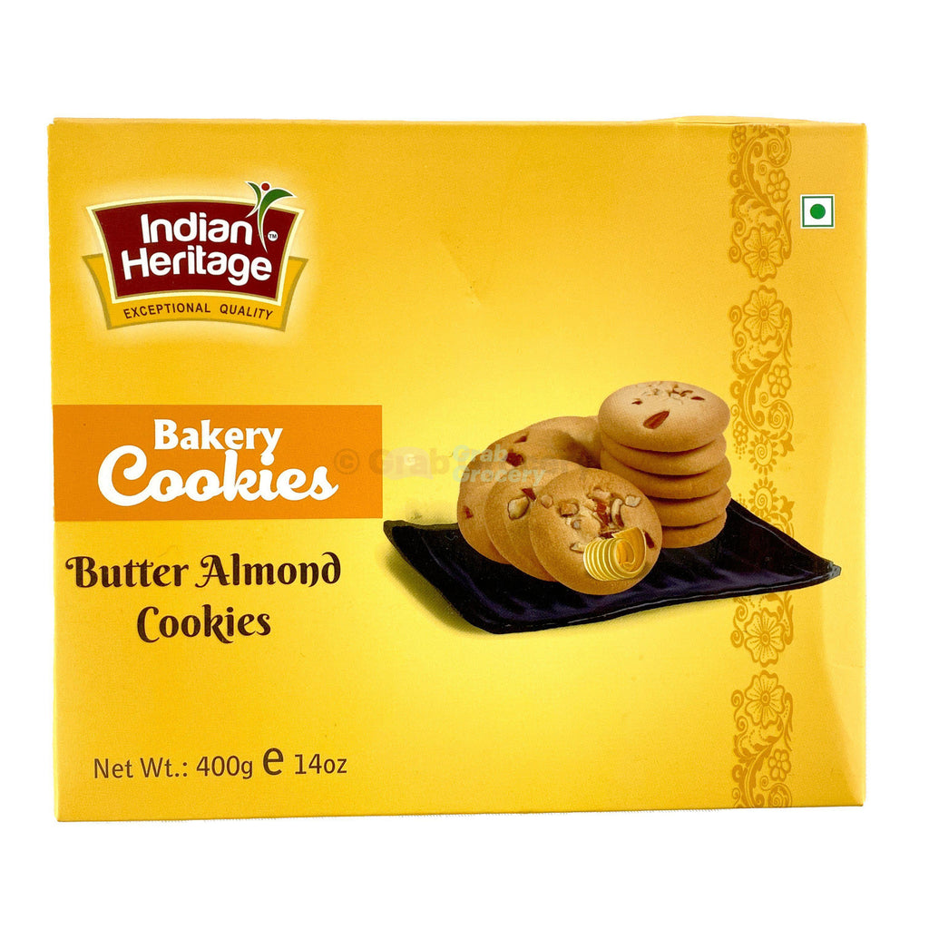 Indian Heritage Butter Almond Cookies