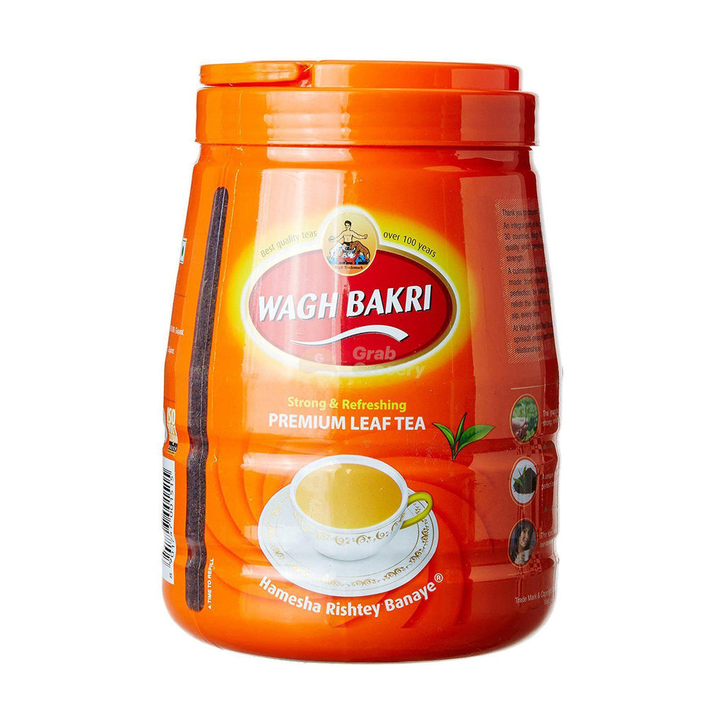 Wagh Bakri Tea (Jar) - Grab Grocery
