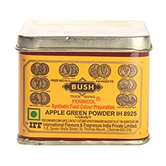 Bush Apple Green Food Colour