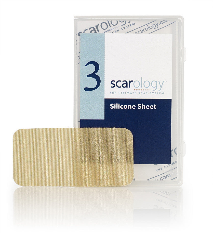 Scarology Silicone Scar Sheets (6 reusable sheets)