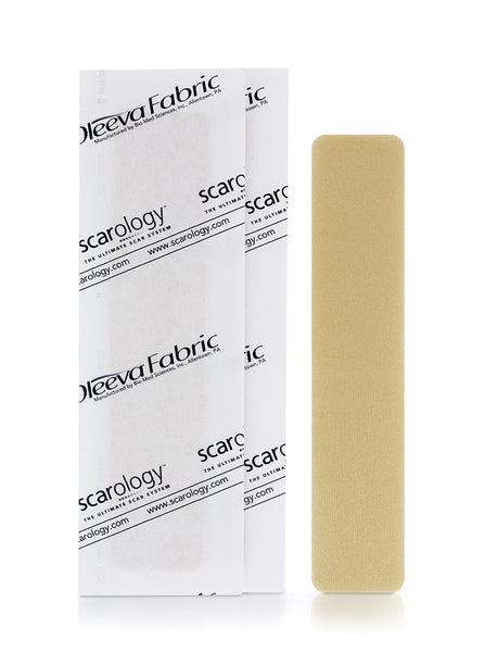 Scarology Silicone Scar Sheets for C-Section Scar or Large Scar (3 reusable sheets)