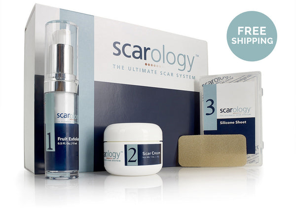 FREE SHIPPING - Scarology's Scar Removal System