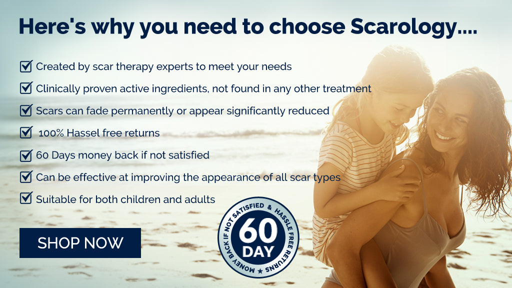 Here's why you need to choose scarology... SHOP NOW
