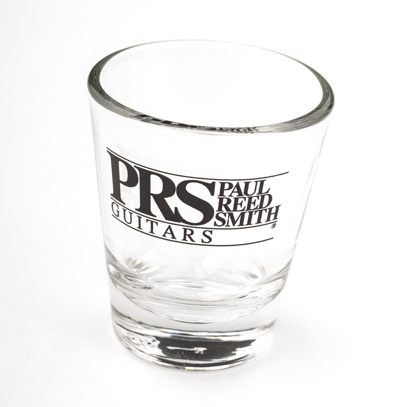 PRS Block Logo Sticker, Black