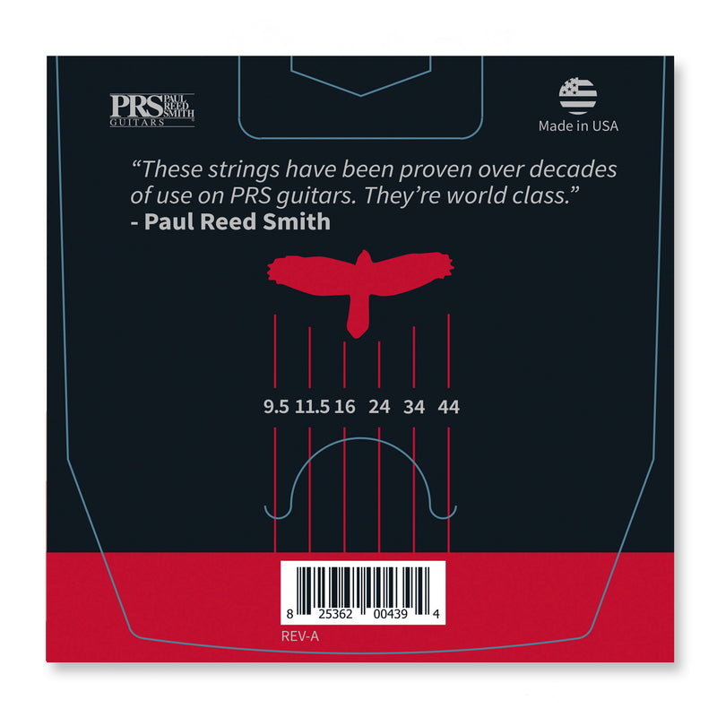 PRS Classic Custom Light Guitar Strings 9.5-44
