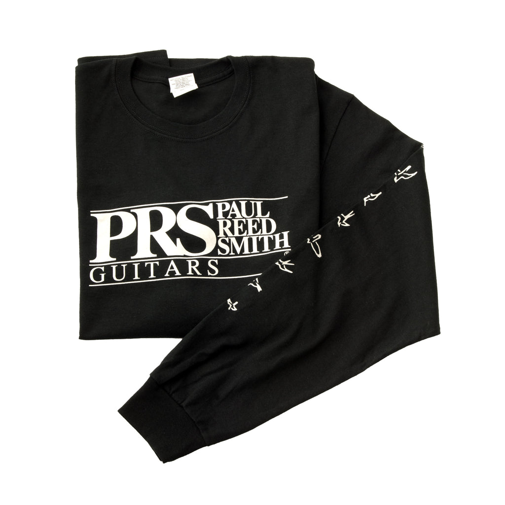 PRS Block Logo Long Sleeve Logo Tee