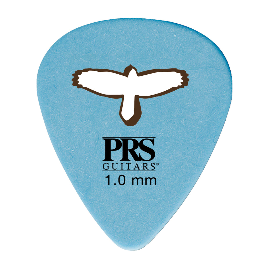 "Delrin ""Punch"" Picks - Blue 1.00mm"