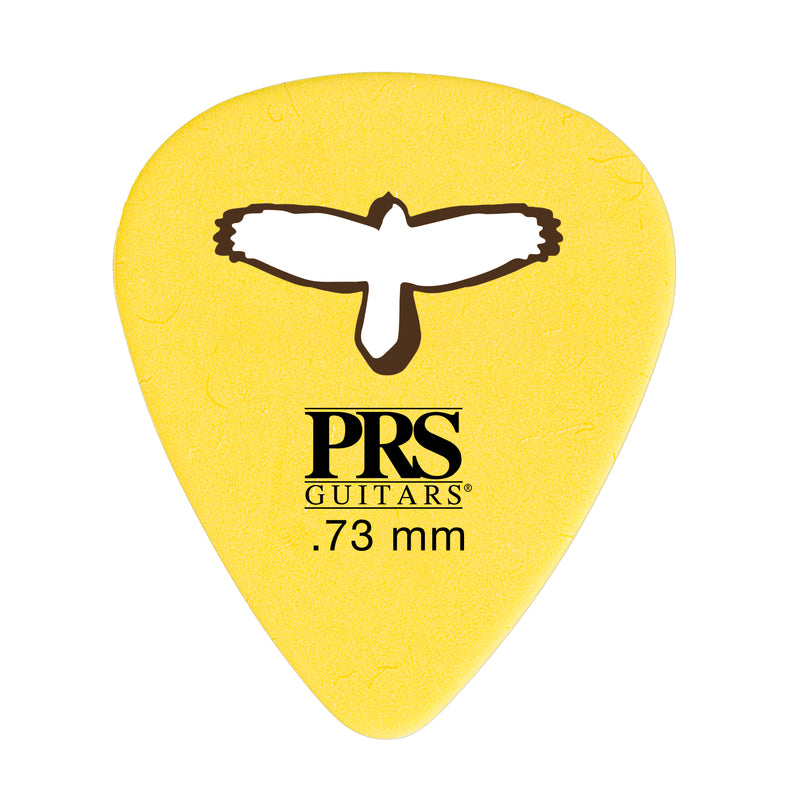 "Delrin ""Punch"" Picks - Yellow .73mm"