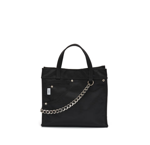 Black Mini Jean Tote