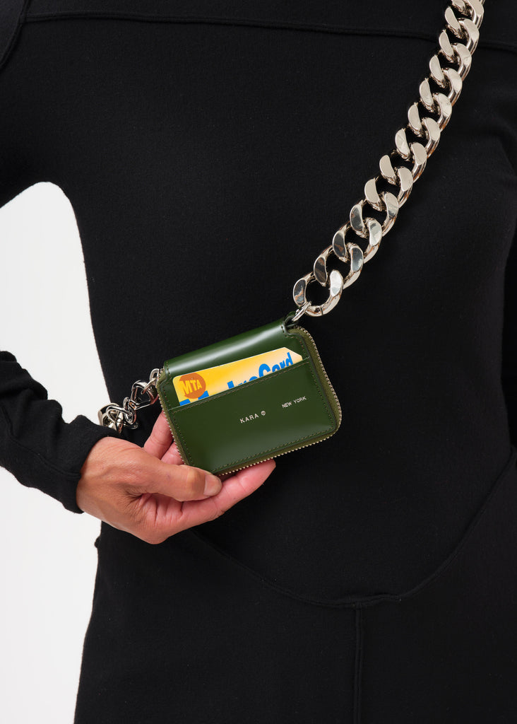 Green Bike Wallet