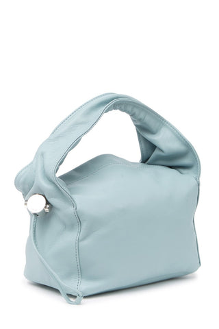 Chambray Leather Baby Cloud Bag