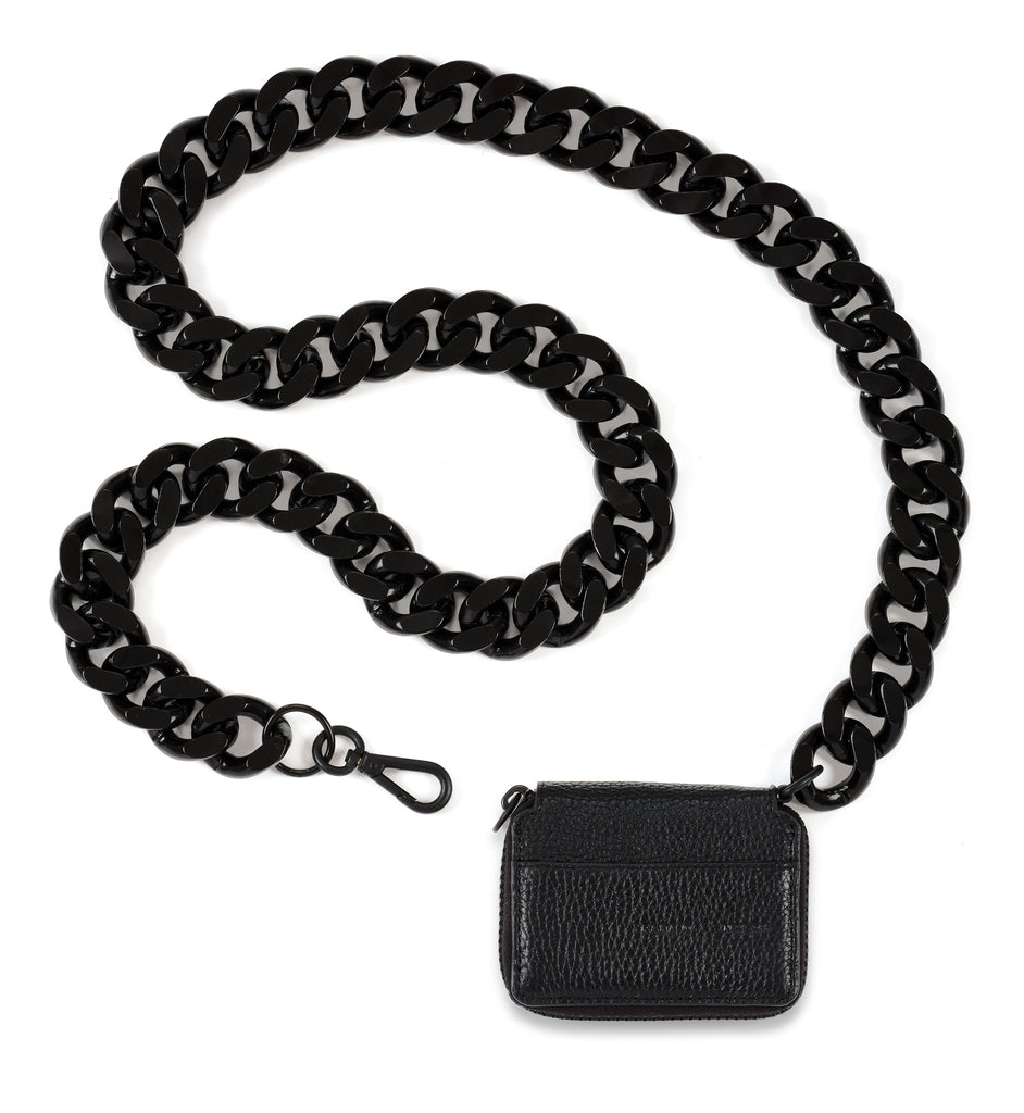 XL Chain Black Out Bike Wallet