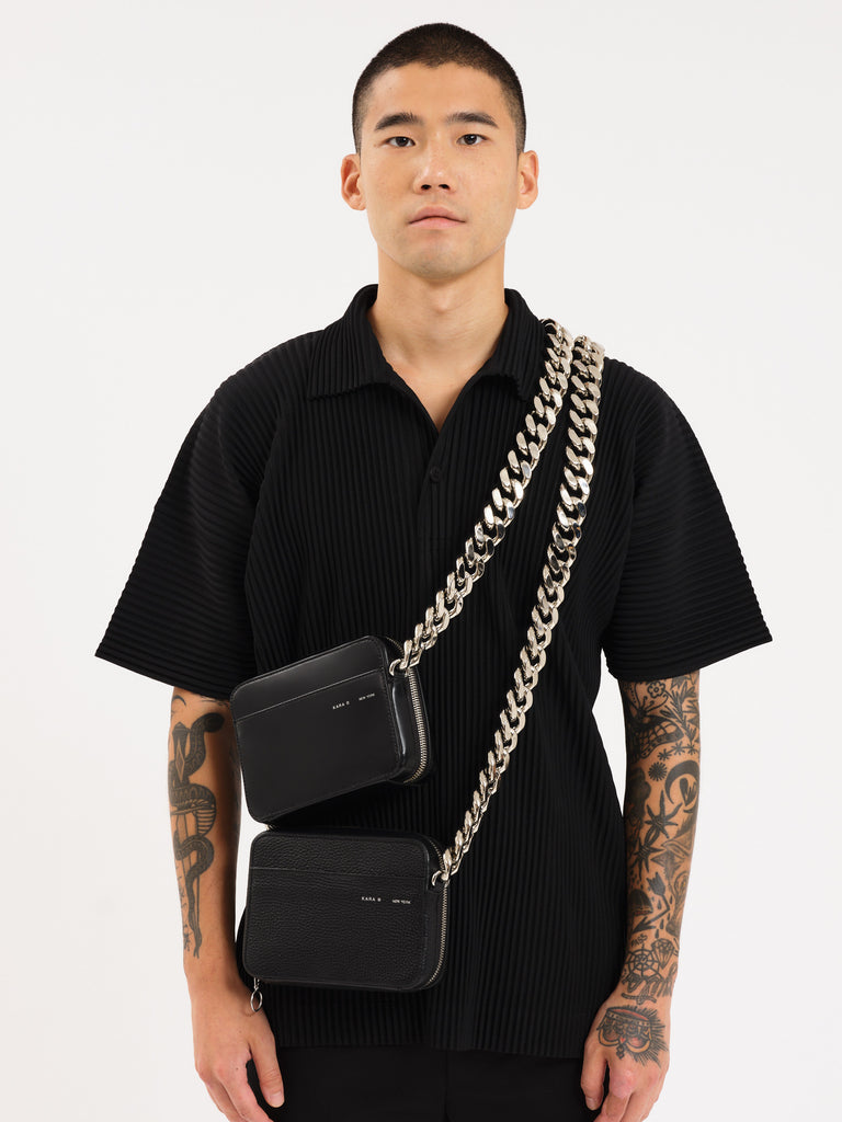 XL Chain Black Camera Bag