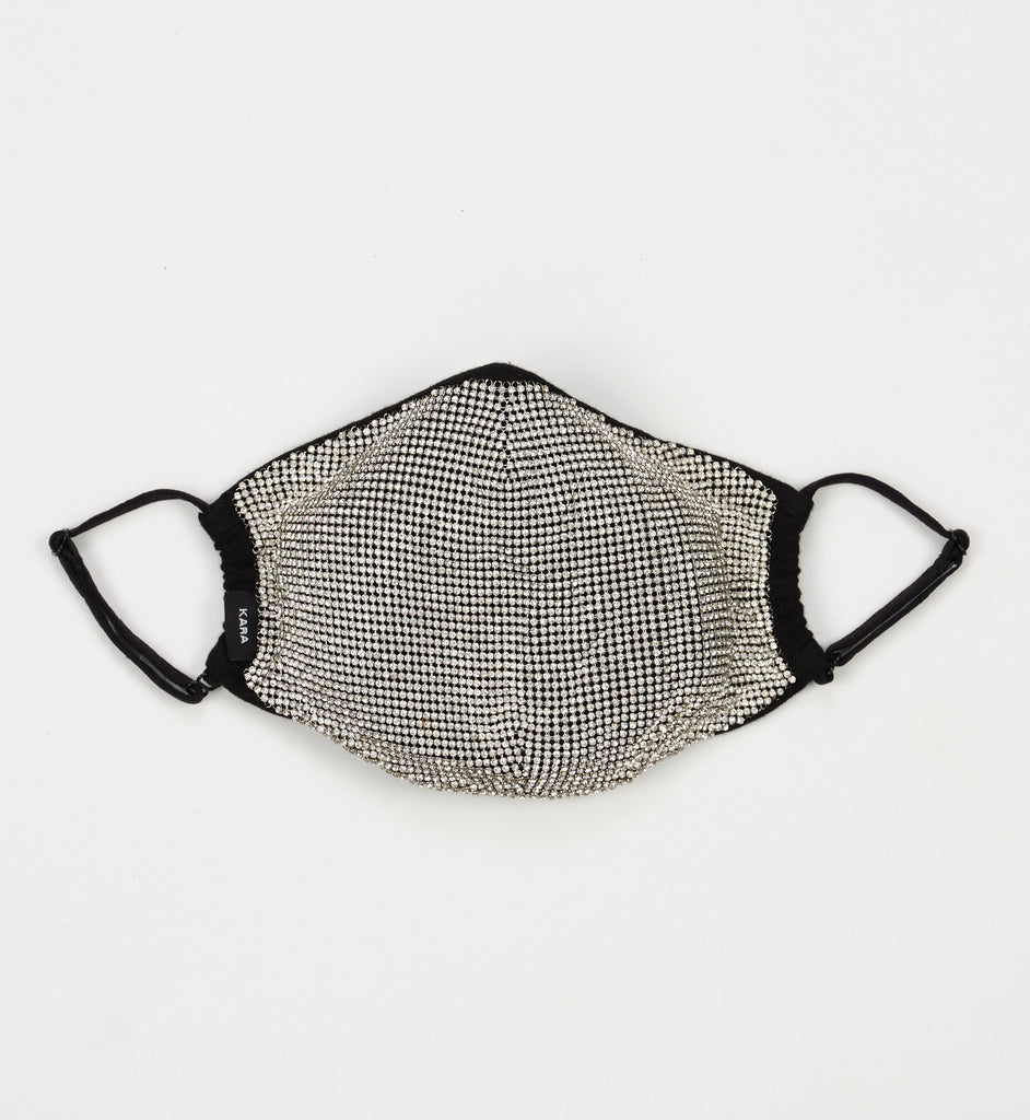 Crystal Mesh Face Mask