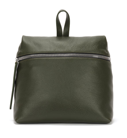 Nori pebble leather backpack