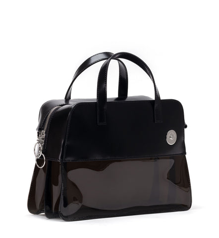 Smoke Pinch Brick Satchel