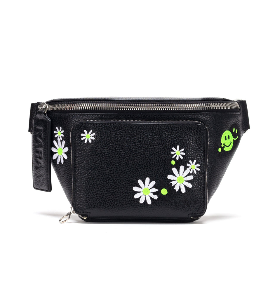 Embroidered Large Bum Bag