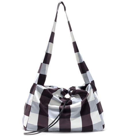 Gingham Cloud Bag