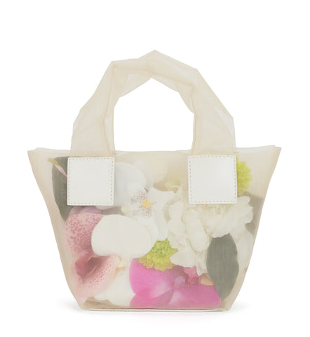 Flower Baby Puffer Tote