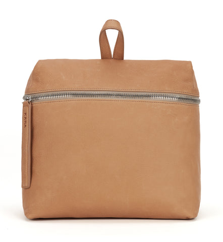 Kraft Leather Backpack