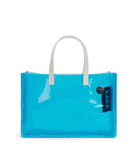 Blue PVC Noon Tote