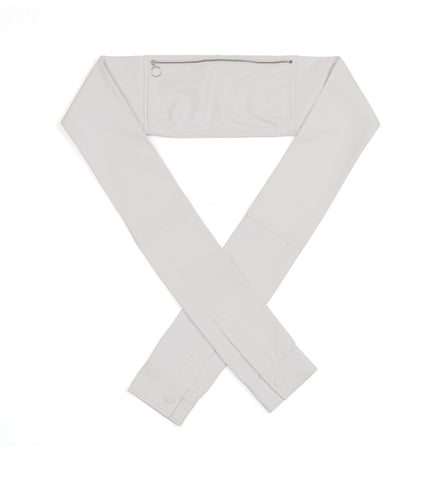 White Shirt Waist Bag