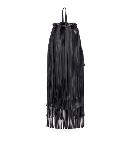 Black Fringe Sac