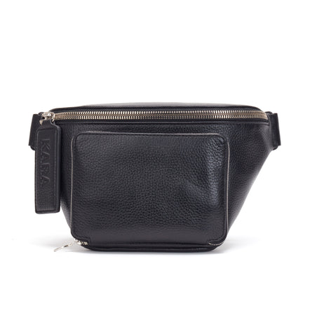 Black Large Bum Bag