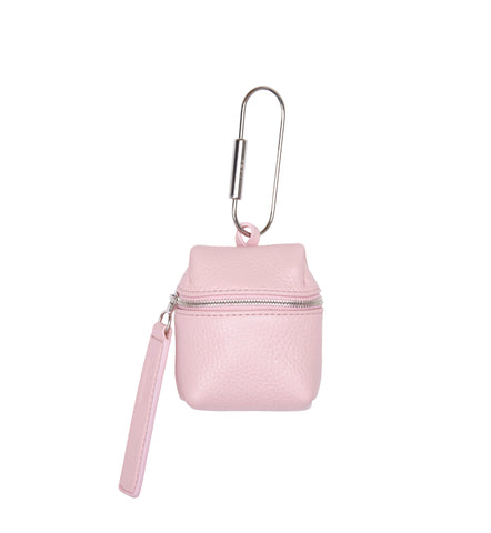 BLUSH PINK PICO BACKPACK KEYCHAIN