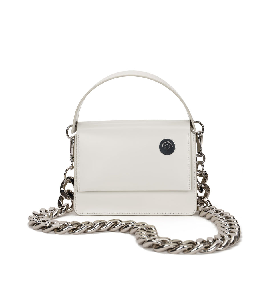 White Baby Pinch with Chain