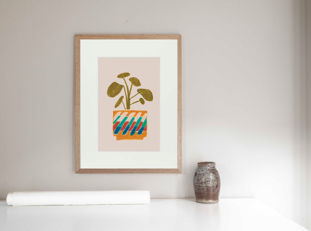 Pilea 20 x 30 cm LIMITED EDITION