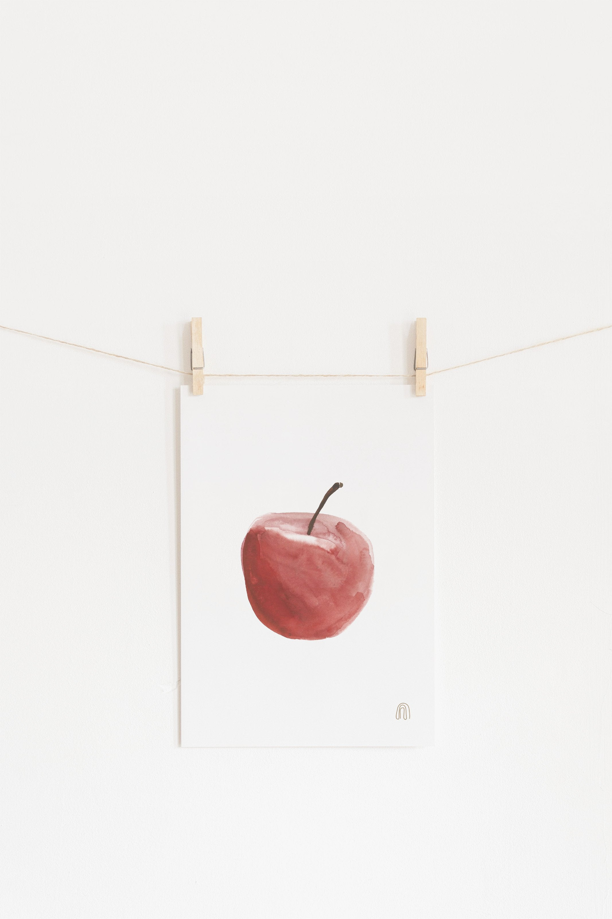 Apple Art poster 21 x 30 cm