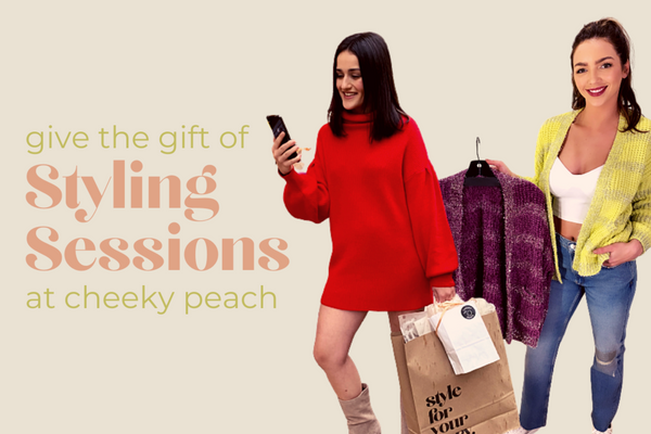 Give the Gift of Styling Sessions at Cheeky Peach