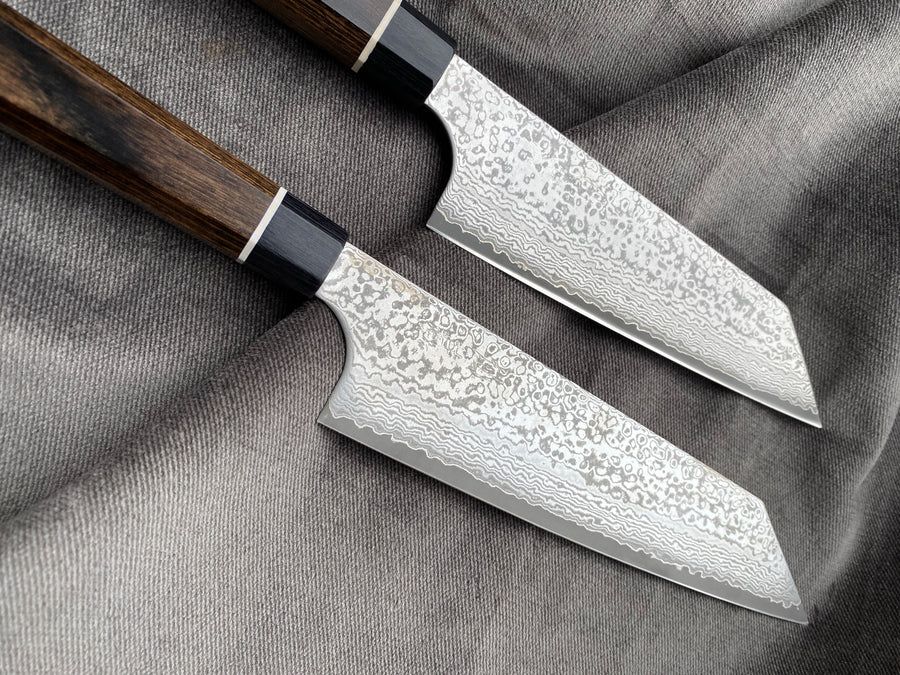 Bunka Black Damascus 200 mm