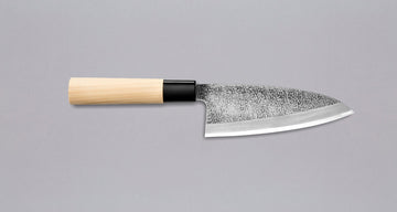 Ikeuchi Deba Hammered Finish 150 mm