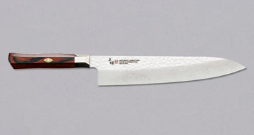 Mcusta Gyuto Supreme Hammered 240 mm