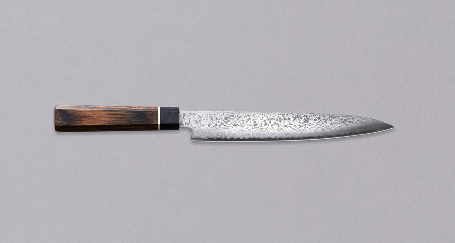 Black Damascus Slicer 210 mm