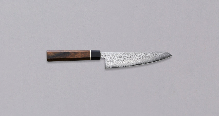 Black Damascus Small Santoku 140 mm