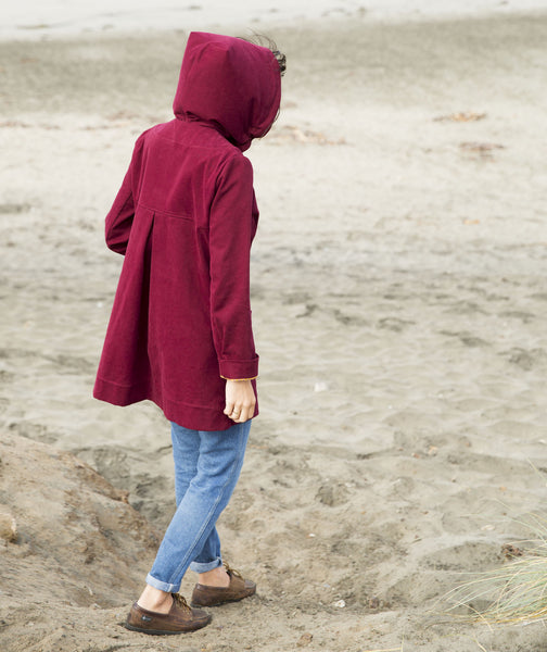 .Lumber Jane in Burgundy