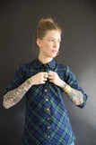 Gold Miner's Daughter black watch plaid in stock